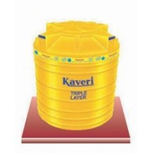 Kaveri-Triple Layer-Export Quality-TL-500 Ltr-Water Storage Yellow