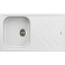 Carysil New beethoven D100 single bowl granite finish with drain board