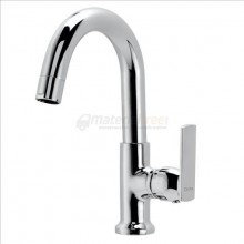 CERA Titanium Swan Neck Tap With Round Spout(Right)