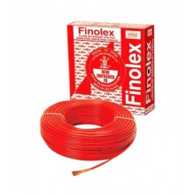 Red colour-6 Sqmm 90 Mtrs Single Core Flame Retardant PVC Insulated Industrial / Domestic Cables.