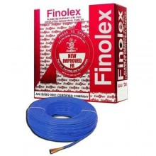 Blue colour-1.5 Sqmm 90 Mtrs Single Core Flame Retardant PVC Insulated Industrial / Domestic Cables.