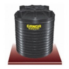 Ganga Kaveri 2000 litres, black colored , Double layered water storage tank.
