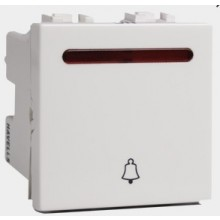 Havells-Pearlz-10 Ax Mega Bell Push with Ind. Switch