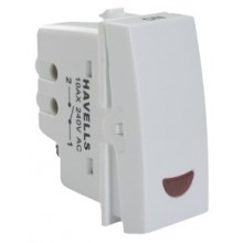 Havells-Pearlz-16 Ax 1 way Switch with Ind.
