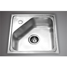 "Spartan SB09 - 20""X20""single bowl SS Sink"