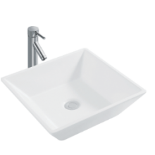 CERA CHOLENA Table Top Wash Basin 410 x 410 mm  snow white