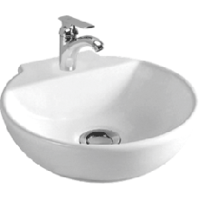 CERA CHASON Table Top - Wall Hung Wash Basin 300 x 310 mm  snow white