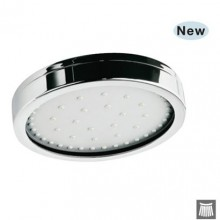 Jaquar Overhead Shower 100Mm Dia Cylindrical Shape Multi Flow (Normal, Massage & Mist) (Abs Body Chrome Plated With Gray Face Plate) With Rubit Cleaning