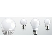 Led Glass Bulb B22,  3W, 6000K / 4000K / 3000K