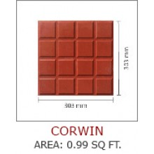 CORWIN-AREA : 0.99 SQ FT.