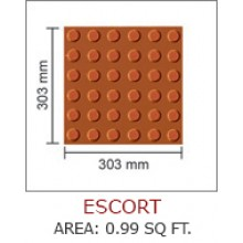 ESCORT-AREA : 0.99 SQ FT.